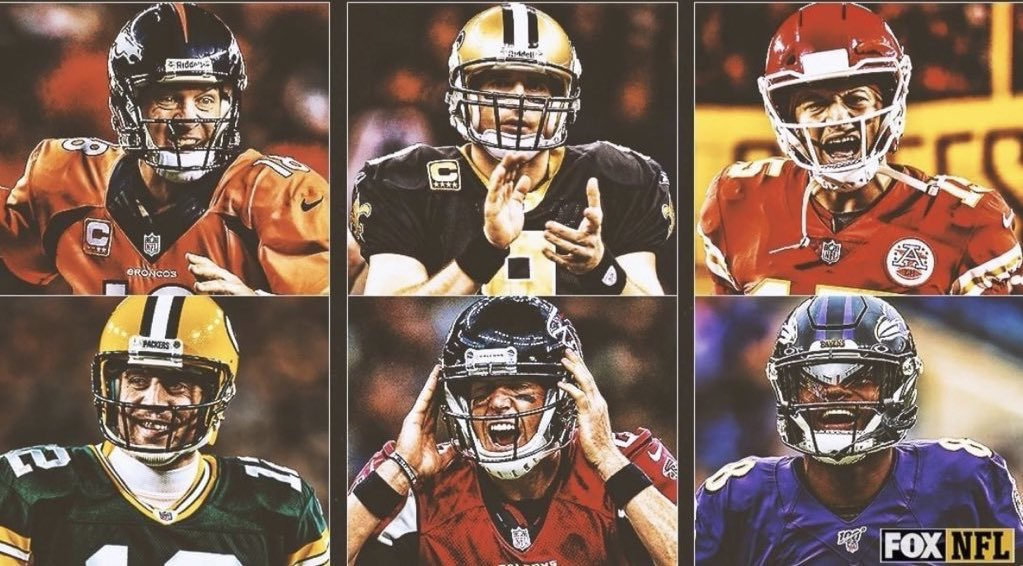 Which team had the best offense in the last decade? 🤔  2013 Broncos 2011 Saints 2018 Chiefs 2011 Packers 2016 Falcons 2019 Ravens https://t.co/M2tydY4zfU