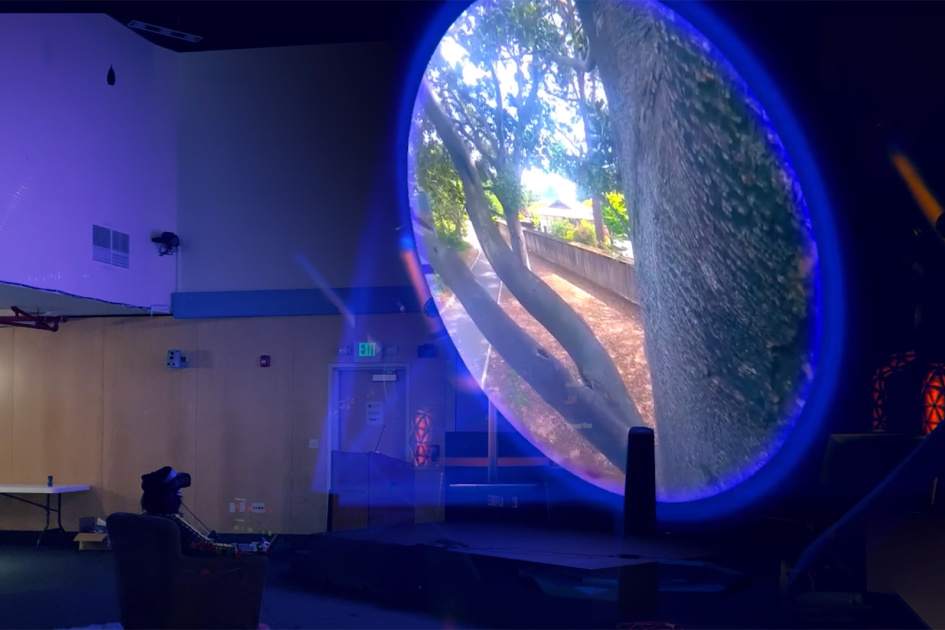 VR time machine helps an inventor relive his past