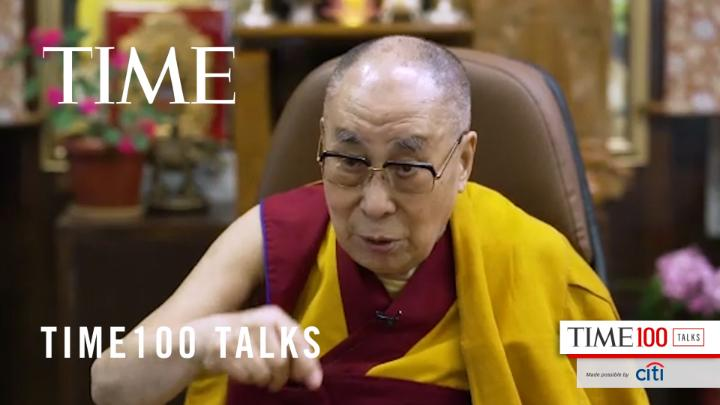 """Ultimately people, public, have the power to decide."" The @DalaiLama on whether it is up to individuals or governments to try and solve the problem of systemic racial injustice #TIME100Talks https://t.co/cHbz1Uj81u https://t.co/sPMwJEU6Gc"