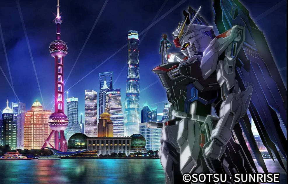 A life-size Gundam statue will be completed outside of Japan in 2021