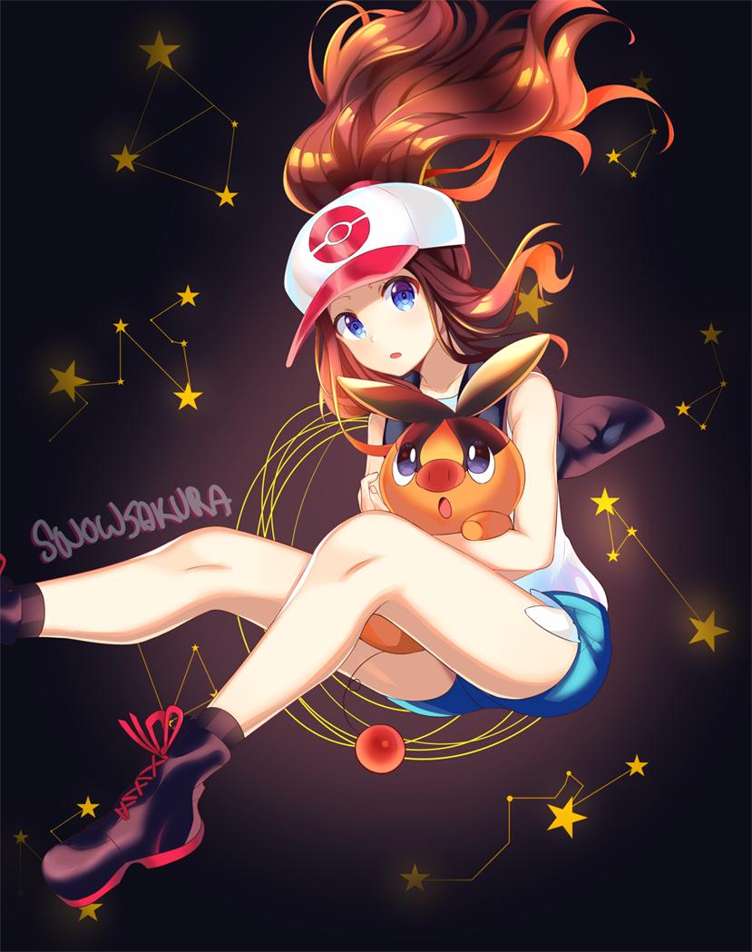 hilda / touko ✨  #pokemon #hilda #touko #pokemonbw #pokemonmasters #トウコ https://t.co/XJaJJ4FbKc