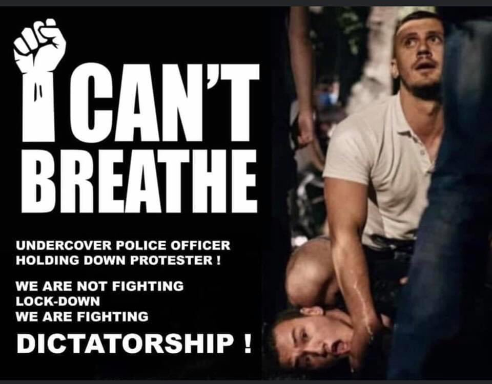#Icantbreath #Serbiaprotest https://t.co/SyCDf1Mdrv