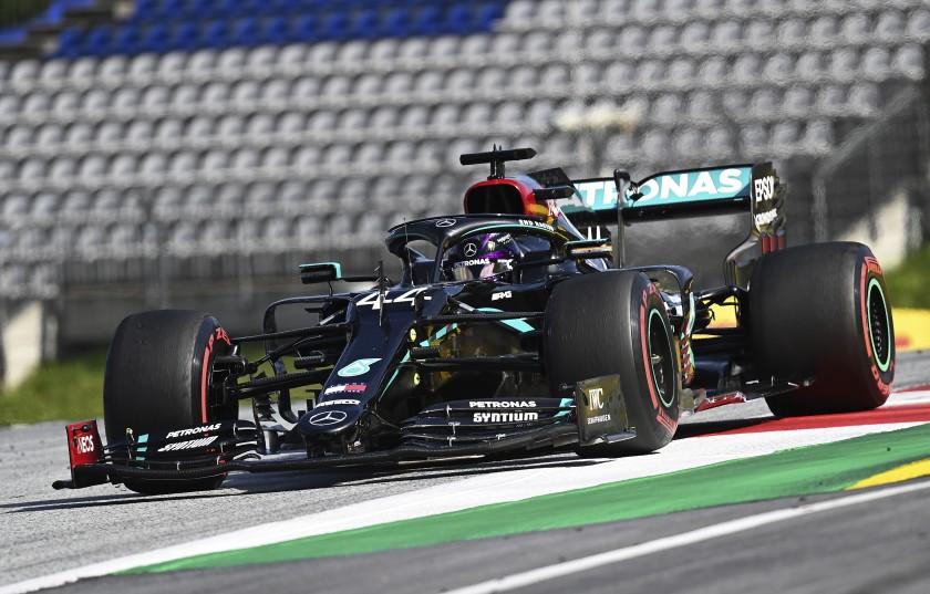 🏁🚗  #Formula1   #Lewis #Hamilton🇬🇧  ganó el #GranPremio de #Estiria🇦🇹   https://t.co/NJnZS7WerA https://t.co/HL6Q0n6zbW