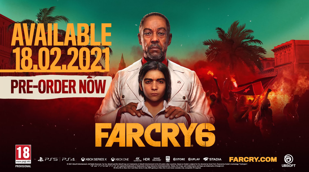 far cry 6 ubisoft twitter