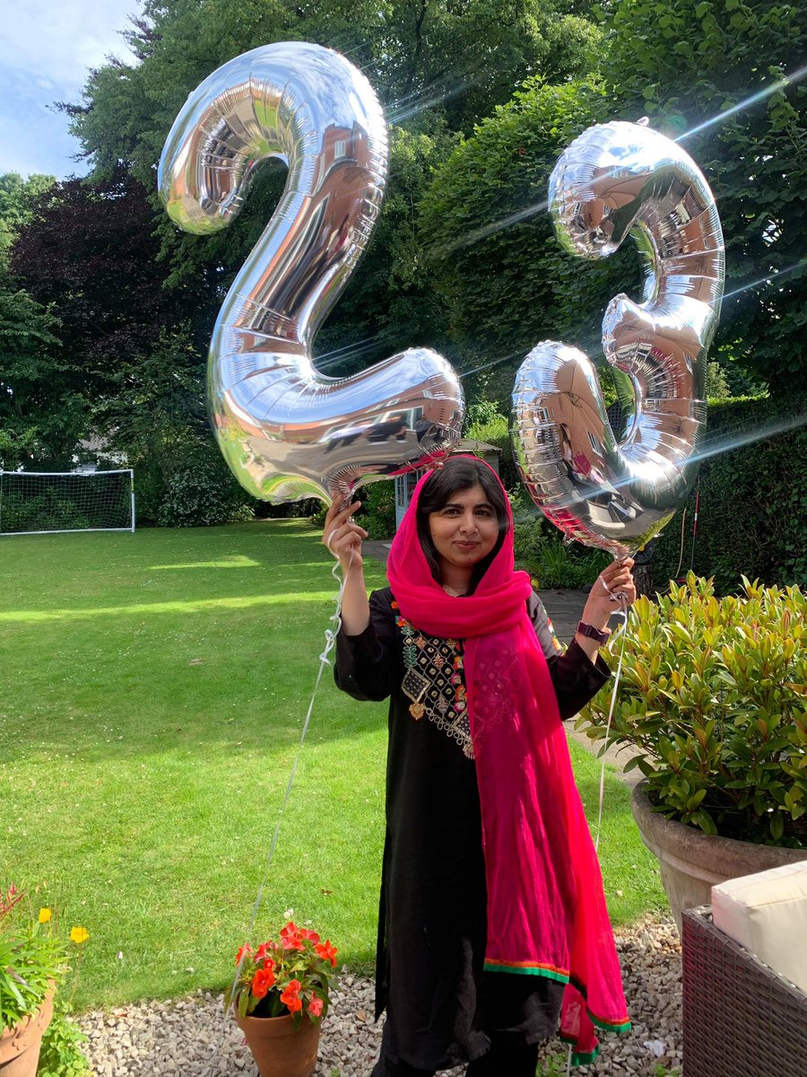 Happy birthday @Malala you have accomplished so much. Thank you for the continued inspiration you bring to so many young women!