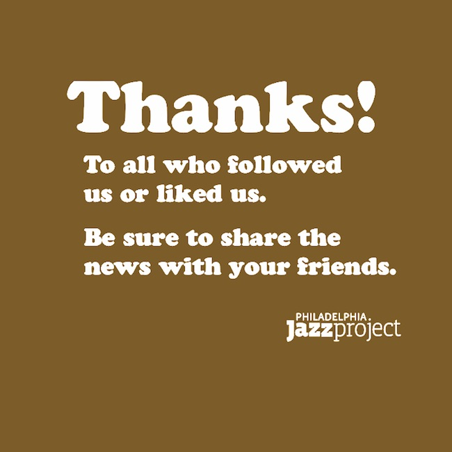 Much love & many thanks to everyone who visited & shared the good news about our work, this music & the musicians who make it // If you enjoy the news, media & info we present, LIKE & FOLLOW us // Be Safe & Stay Well  #Thanks #Gratitude #Grateful #StayWell #StaySafe #PhillyJazz https://t.co/xnlnzLbcsO