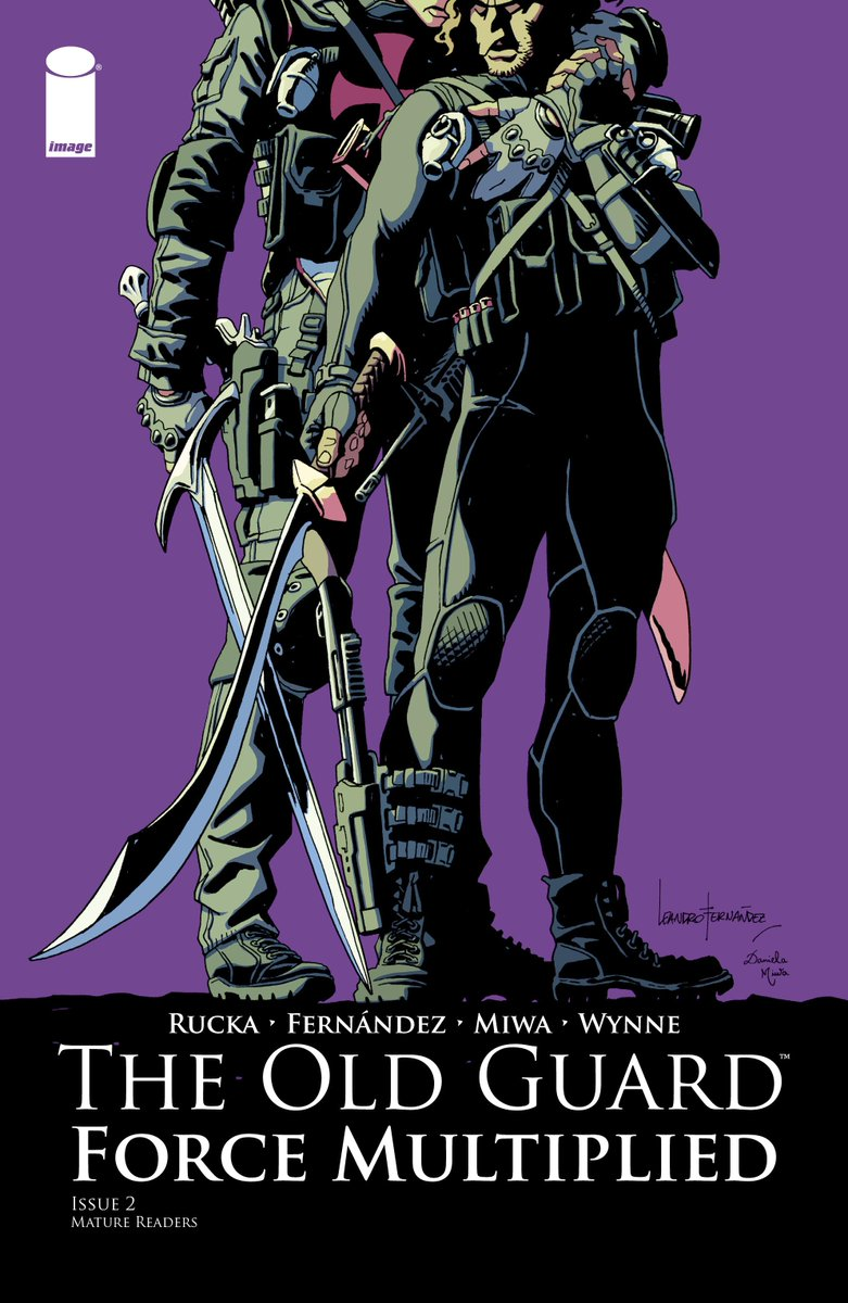 Currently #reading The Old Guard: Force Multiplied #2 #TheOldGuard #ImageComics #Comics https://t.co/F2RT9LD8B9