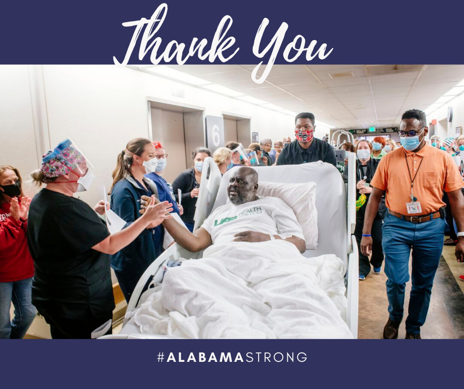 Celebrating our #Survivors and #FrontlineWorkers !! #THANKYOU #ALABAMASTRONG https://t.co/4UYoSCMdv7  #StayHome #StaySafe #TogetherApart #PPE #PPEshortage #StayCovered #Doctors #Nurses #Pandemic #Covid19 #Coronavirus #J2MedicalSupply #EssentialWorkers https://t.co/JYyUpERJIi