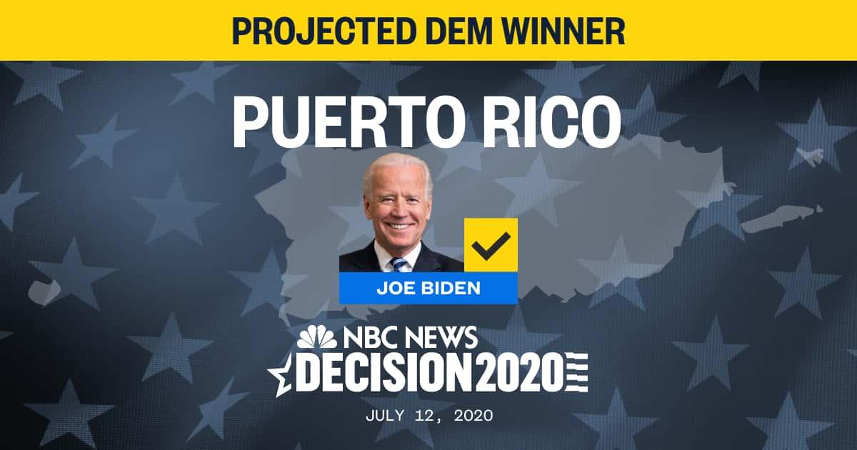 NEW: Joe Biden wins Puerto Rico Democratic Primary, NBC News projects. nbcnews.to/2ZowSsm