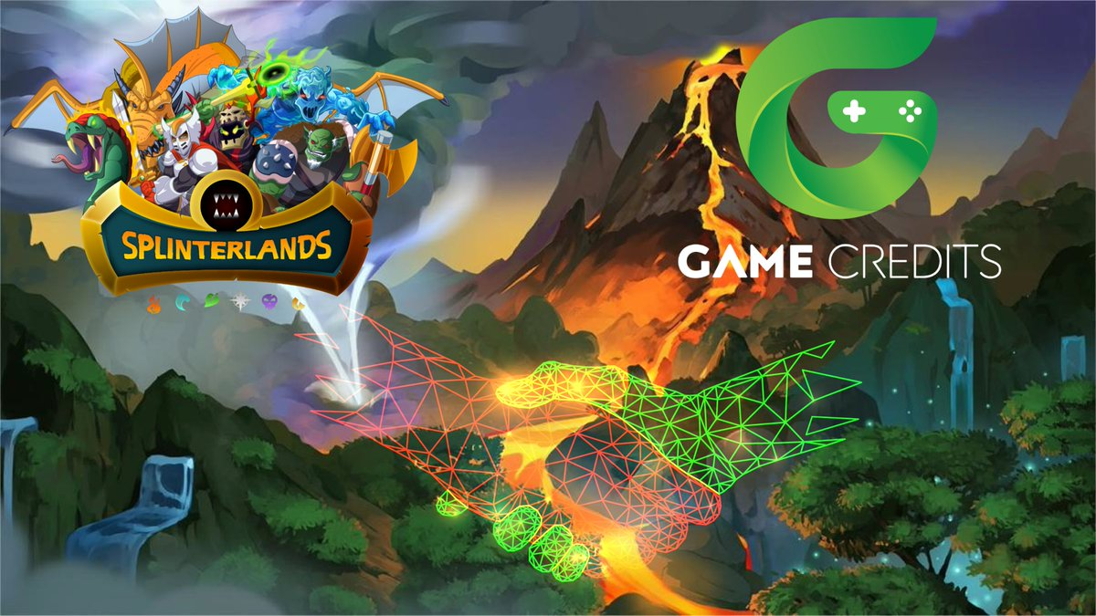 GAME Credits is excited to partner with  @splinterlands  !! It is a #blockchain collectible card game in which players can battle/trade anytime or anywhere,with players worldwide.  PLAY:   http:// splinterlands.com/?ref=gamecredi ts.org  …   WIN: $GAME by staking on Splinterlands on:   http:// app.gamecredits.org/rewards/games/ 18  … <br>http://pic.twitter.com/I6oJUZKw8Z