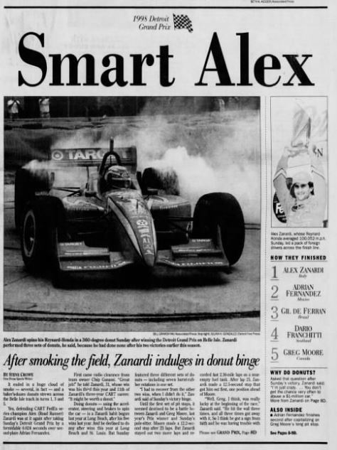 We hope you enjoyed a look  back at the 1998 #DetroitGP this week. Awesome performance by @lxznr as we continue to keep he and his family in our thoughts. You can watch the '98 race on our FB. https://t.co/gpzYgB2bVd #forzaalex  #IndyCar https://t.co/QaNdFsbHLq