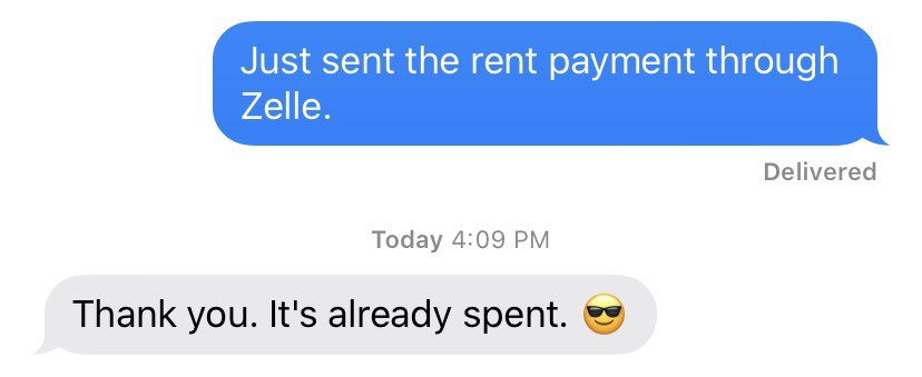 """RT @ancillarytext: Y'all, does my landlord think he's being """"relatable"""" and """"cool"""" with this or....?? https://t.co/2SOIgObrfn"""
