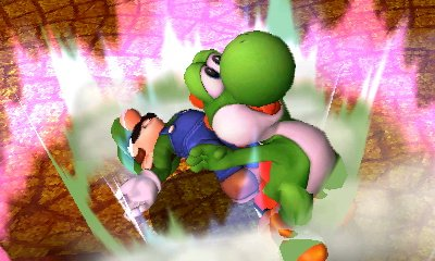 Having a good hell of a time. #SmashBros #3DS