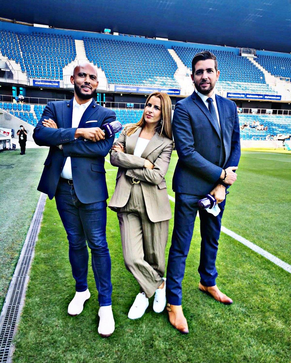 Nouveau trio. Un kiff. Merci ! @thiam_brahim & @Vanessalemoigne #PSG https://t.co/piafZUNX3n