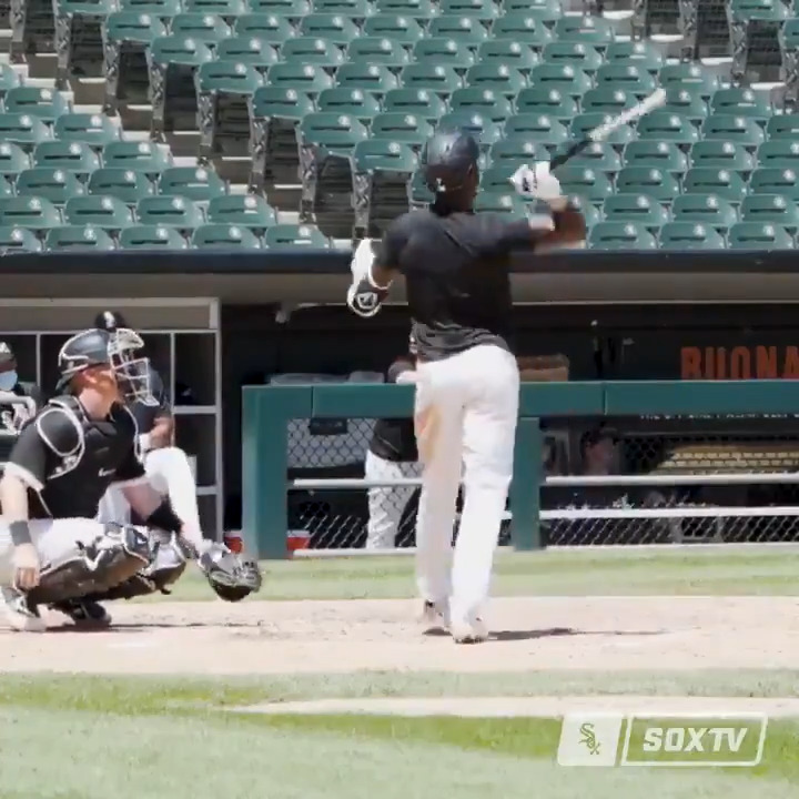 Give us all the angles of @TimAnderson7's bat flip. 🔥 (via @WhiteSox & @MLBNetwork)