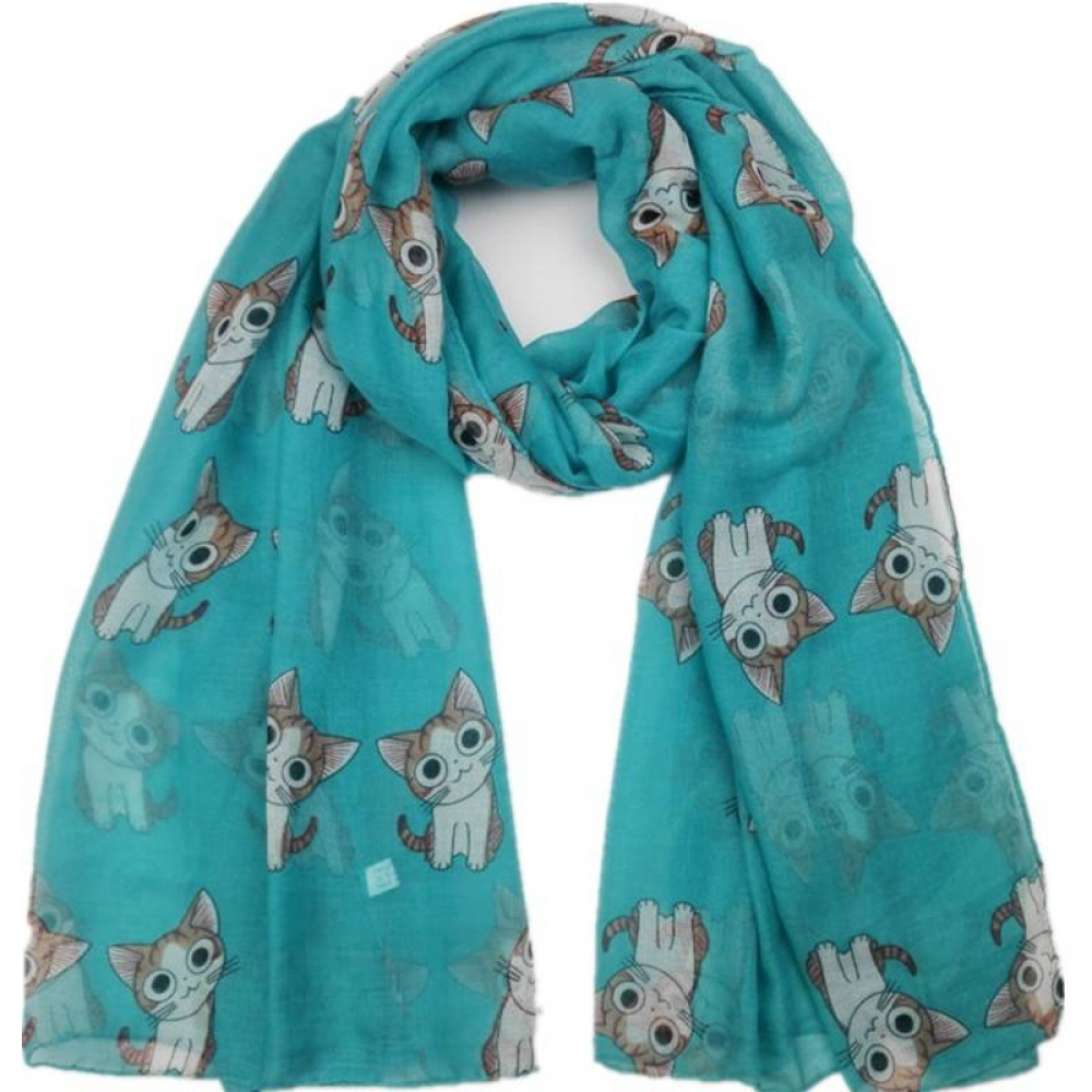 Women's Cat Printed Viscose Scarf#summer #white https://pretty-boutique.com/womens-cat-printed-viscose-scarf/ …pic.twitter.com/JIFDkcM0yM