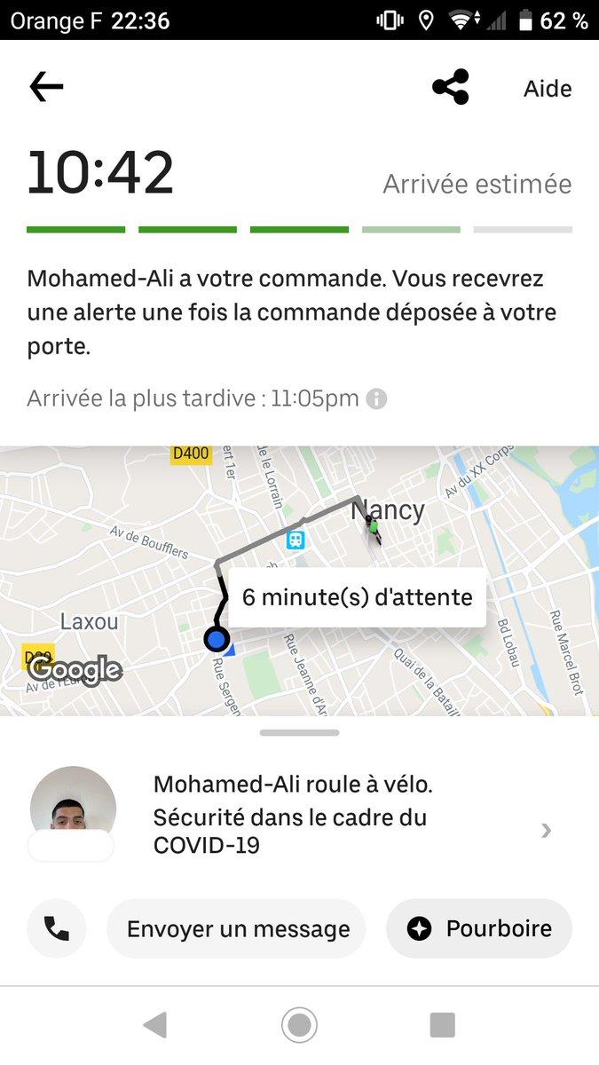 """Qui peut s'asseoir à ma table et dire """"Je me suis fait livrer par Mohamed Ali.""""?pic.twitter.com/aQ3rlaJY9a"""