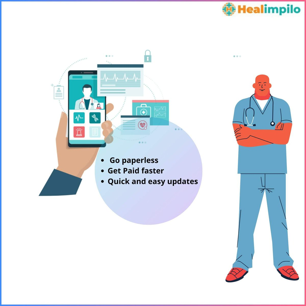 -Quick and easy update of Appointments and Patient reports on laptop screen - Getting paperless and managing all activities from your portal #doctors #onlineportal #technology #ehr #software #healimpilo #practicemanagement #bestfordoctors https://t.co/PEIrAOdPUh