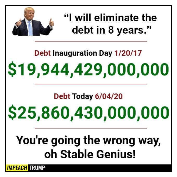 @GOP @senatemajldr @SenateGOP @HouseGOP Hell no!! #TrumpHasNoCredibility #GOPBetrayedAmerica #GOPCowards #VoteBlueToSaveAmerica2020 #VoteBlueNoMatterWho #VoteOutGOP #VoteOutHate #Resist #ResignTrump https://t.co/neY2gLnnpp