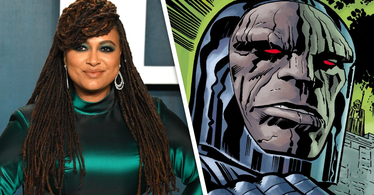 """#JusticeLeague #SnyderCut's Darkseid actor says Ava DuVernay should cast """"whoever she wants"""" for #NewGods:  https://comicbook.com/movies/news/justice-league-snyder-cut-darkseid-ray-porter-new-gods-ava-duvernay/…pic.twitter.com/x2iTL2Z6fx"""