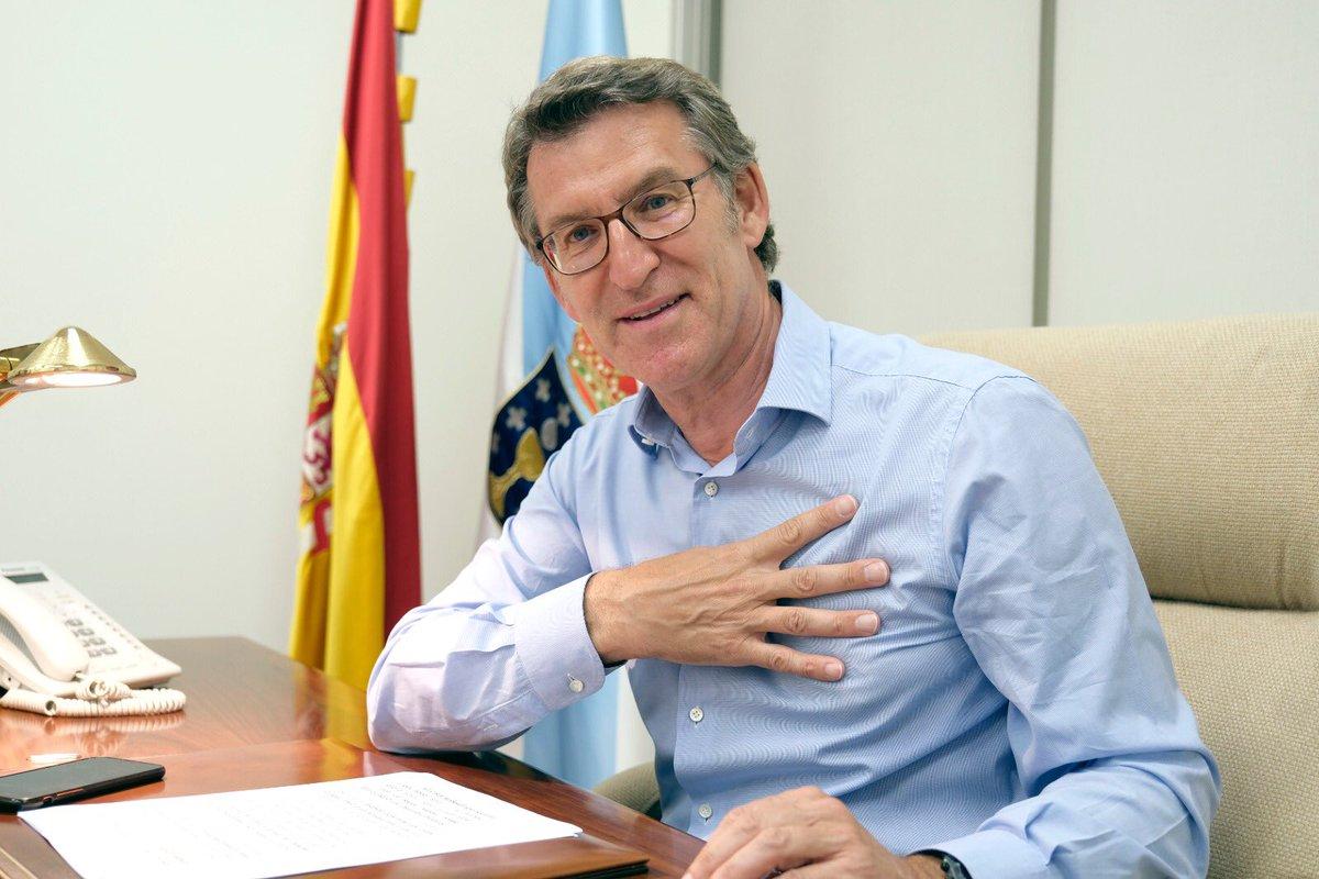 Gracias de corazón Galicia, Galicia, Galicia... por cuarta vez Galicia!