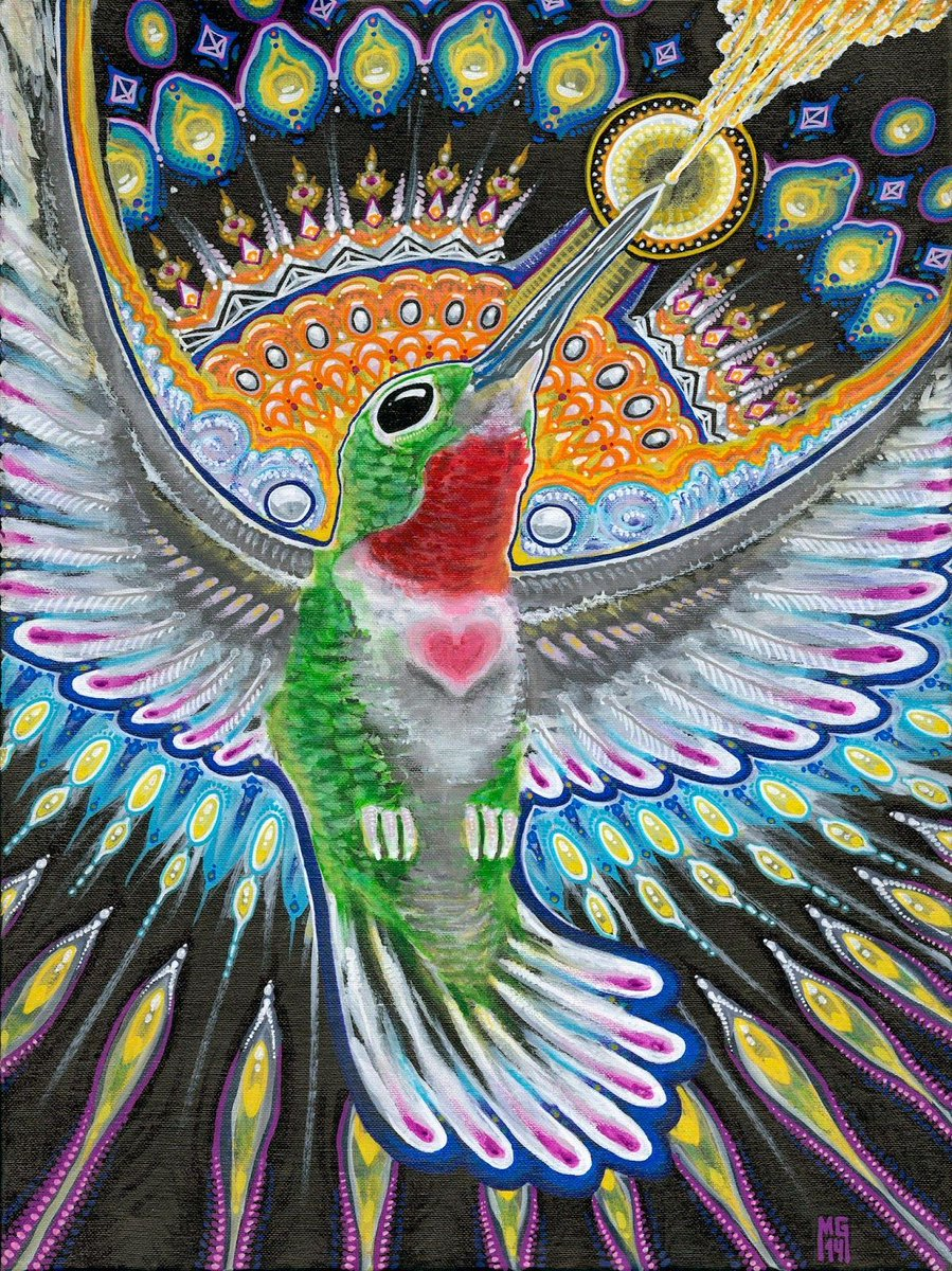"""""""Hummingbirds use their tongue to drink the nectar from the flowers. Humans need to use their hearts and minds to access the truth from the universe."""" RT with what inspires you to connect more to your heart! #hummingbirds #creativity #consciousness #compassion #spirituality https://t.co/QnrnNNHnP8"""