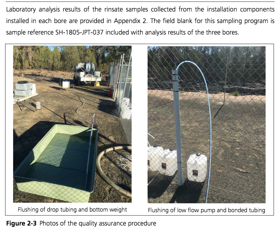 Gov baseline water monitoring in the #Pilliga Forest close to 4 #fracked gas wells has returned results showing #methane (CH4) approaching & exceeding the lower explosive limit for a duration on 24/05/18 – no further monitoring has been conducted #NSWpol  https://t.co/B5EZKOOfHS https://t.co/kBoC8TO2af