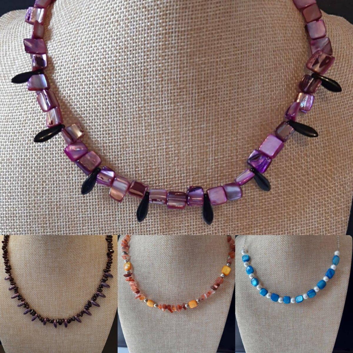 Necklaces available    #etsy #jewellery #handmadejewellery #jewellerydesign #jewelrysale #birthdaygift #giftideas #giftsforher #necklaces #jewelry  #SmallBusiness