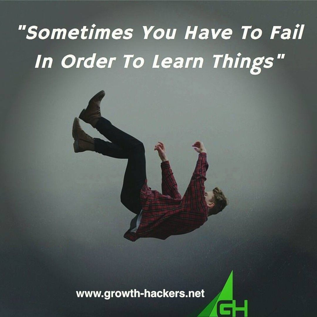 """""""Sometimes You Have To Fail In Order To Learn Things""""  #Failing #Learning #Education #Falling #Success #Business #Motivation #Inspiration #InspirationalQuotes #Quotes #InstaQuotes #BusinessInspiration #GrowthHacking #ContentMarketing #DigitalMarketing #InboundMarketing"""