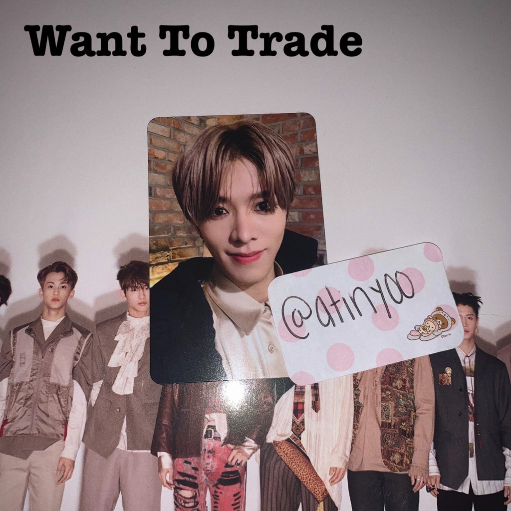 Wtt/Want to trade Album: Regulate Have: Yuta Want: Mark equivalent  Location: us only!  #nctregulate #marklee #nct #yuta #nctwtt #yutaphotocard #markleephotocard #nctphotocard https://t.co/eUTxekP9QA