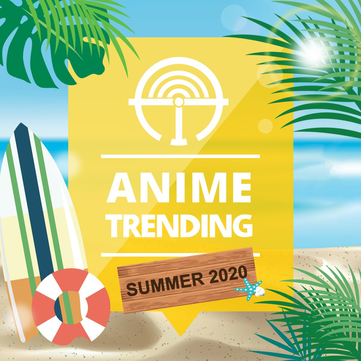 New season. New profile picture! Welcome to the Summer 2020 anime season! 🏄‍♂️