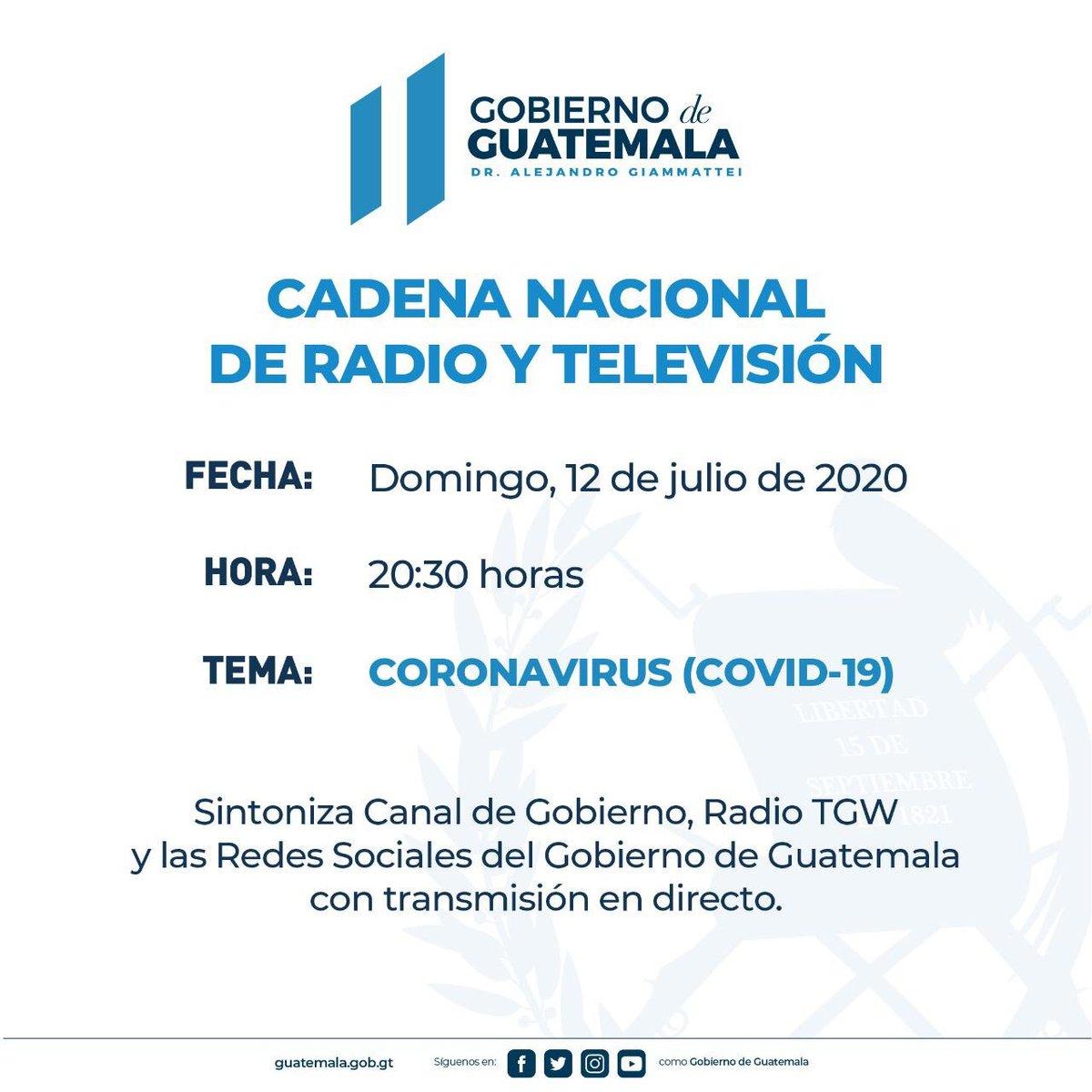 test Twitter Media - #AHORA Gobierno anuncia Cadena Nacional este domingo a las 20:30 horas por el tema Coronavirus COVID-19. https://t.co/uPjOB83c2t