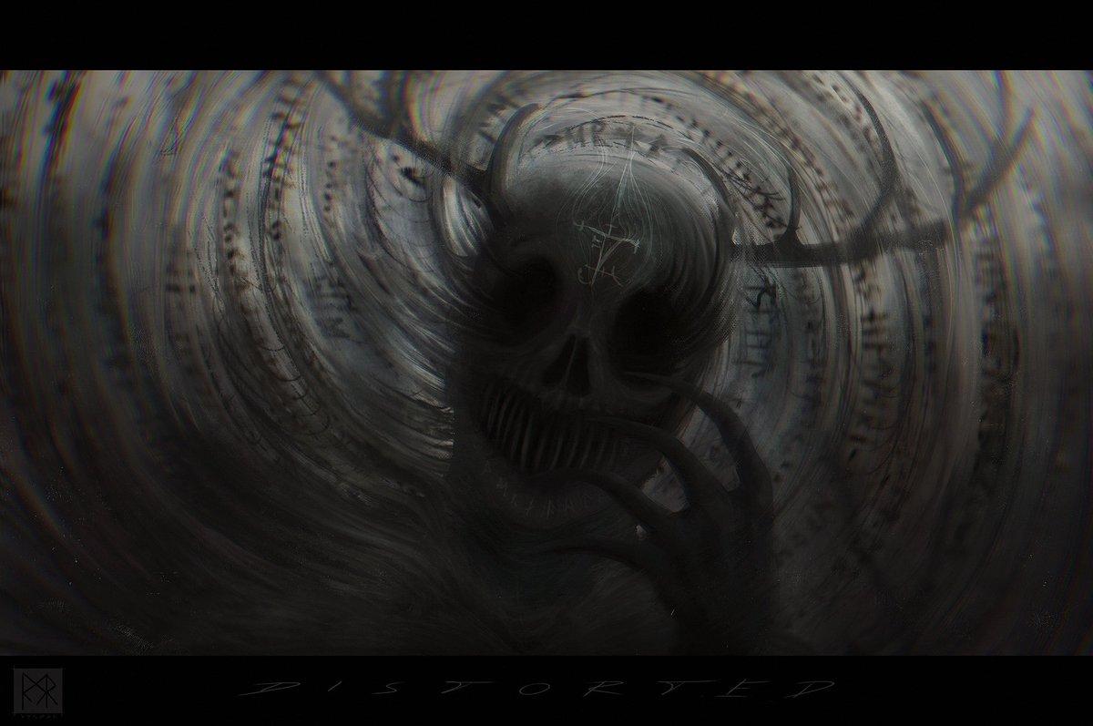 D I S T O R T E D  personal.  #art #ArtistOnTwitter #digitalart #darkart #HorrorArt #darkfantasy #conceptart #illustration #macabre #digitalpainting #creaturepic.twitter.com/pEIFLYTisv