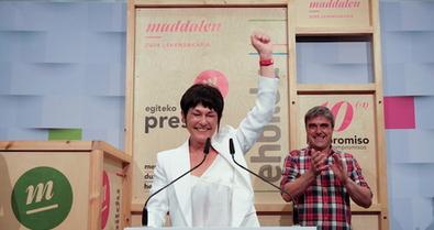Maddalen Iriarte (EH Bildu): «El cambio no ha hecho más que empezar» #U12hauteskundeak https://t.co/sZruLRvpO6 https://t.co/E26b4EPNk7