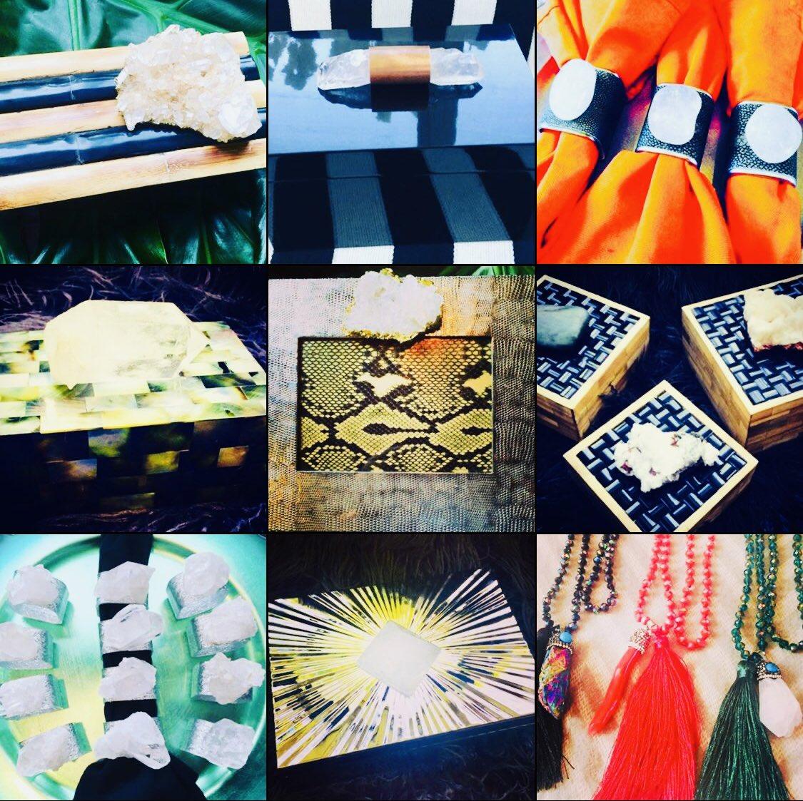 """Quartz enhances spiritual growth, spirituality, awareness, and wisdom."" Explore our unique handmade creations utilizing powerful quartz stones at (link in bio): http://www.JesseDimondDesign.etsy.com!#healing #quartz #stone #crystal #bohostyle #bohochic #decor #decoration #design #designerpic.twitter.com/Zc4ZIG3Eak"