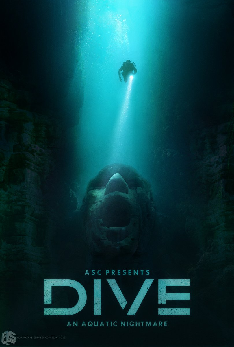 ASC presents the thrilling original 'DIVE'! We have some exciting project teasers coming your way and a big trailer drop next week! Stay tuned for more the aquatic nail bitter #asc #DIVE #newproject #thriller #trailercomingsoon #creaturefilms #conceptart #officialposterpic.twitter.com/zfqEFACWAw