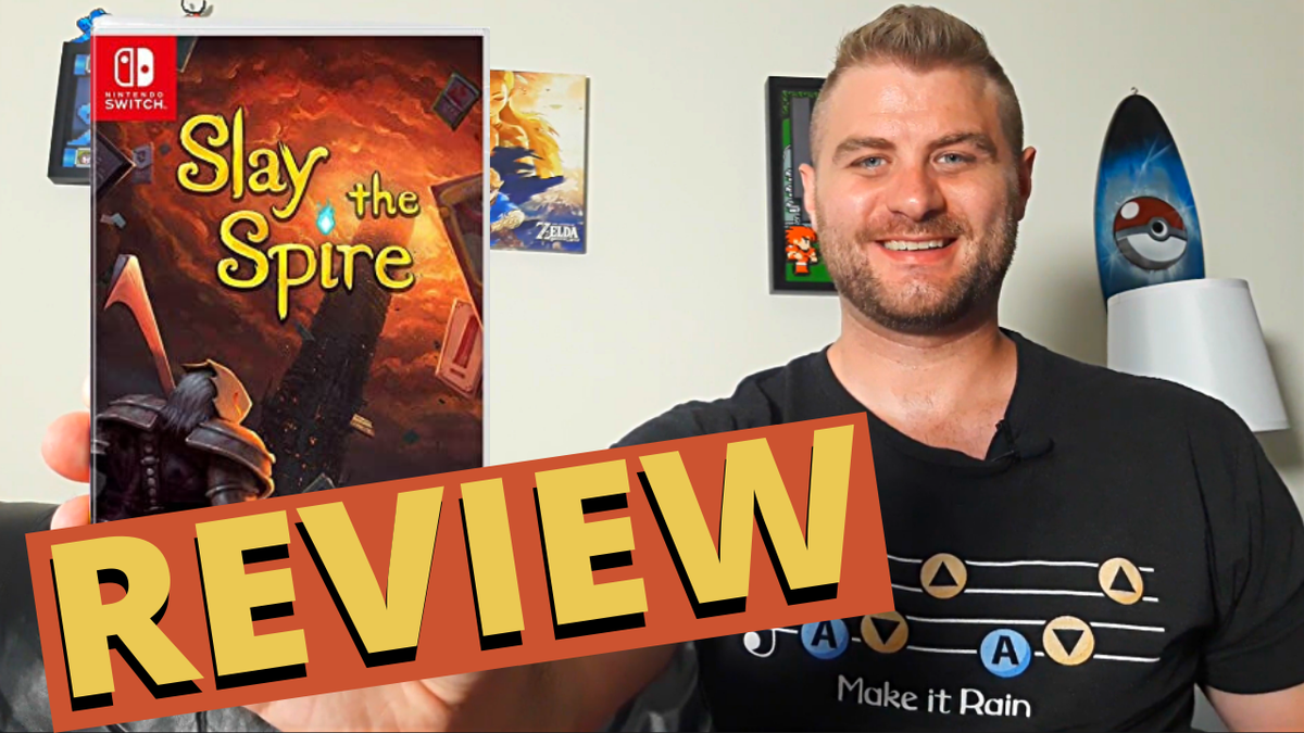 Slay The Spire - Review   https://www.youtube.com/watch?v=X57Z1DOwXbc&list=PLaUCKjsUmlMkioFj74IUvVFeyQQJq90qi…  #videogamereview #deckbuilderpic.twitter.com/ULat58evNt