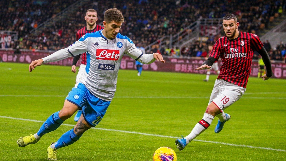 ⚽ #SerieA #Italia🇮🇹 (Fecha Nº 32):  #Napoli 2 (Di Lorenzo, Mertens) - #Milan 2 (T.Hernández, Kessié -p-). FINAL. https://t.co/ZJtyCoyCrh