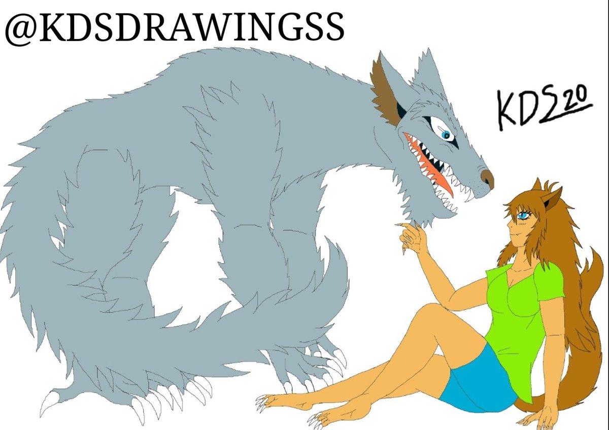A digital drawing of my oc Anne Wolf!!  #drawing #digitaldrawing #digitalart #characterdesign #originalcharacter