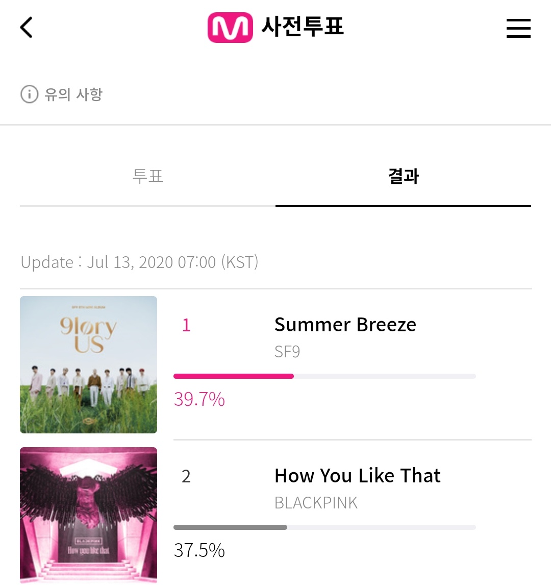 we have one hour left. go vote now we can still win. if you dont vote then don't be mad if the pinks dont win next week <br>http://pic.twitter.com/ZiNVREQThh