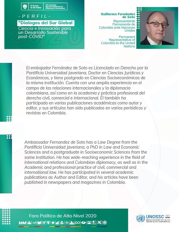 Explorar cómo la Cooperación Sur-Sur y Triangular contribuyen a generar y difundir soluciones tecnológicas en el Sur Global, es el objetivo del side event del Gobierno de Colombia y Unossc mañana a las 7:00 am hora de Bogotá, por Zoom. Aquí los expertos que nos acompañarán https://t.co/7QdFH0Slet