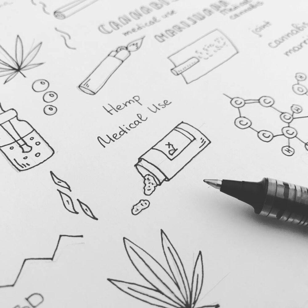 #art #vector #cannabis #drawing #marijuana #handdrawn #handdrawing #artist #illustration #illustrator #doodle #doodleeveryday #vectorart #folowme #branding #like #draweveryday #cartoon #sketch #ink #liner #hemp #joint #cbd #cannabidiol #plant #weed https://t.co/ABjBe3kE8d