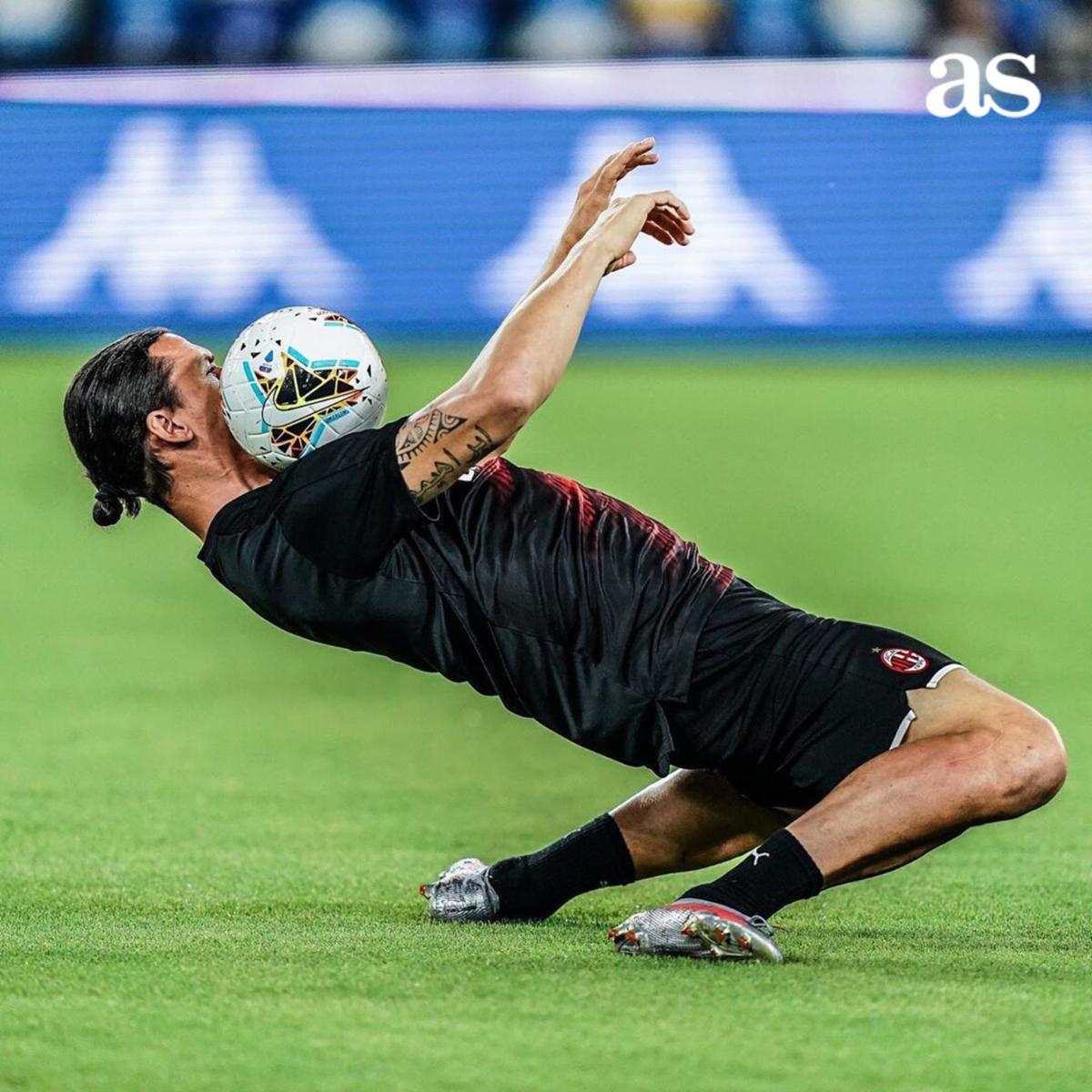 🔝🔝 Zlatan Ibrahimović: 38 años 📸 IG | @acmilan