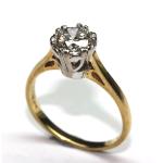 Brilliant Cut Diamond Ring £3,590.00 #jewellery #scotland #diamonds