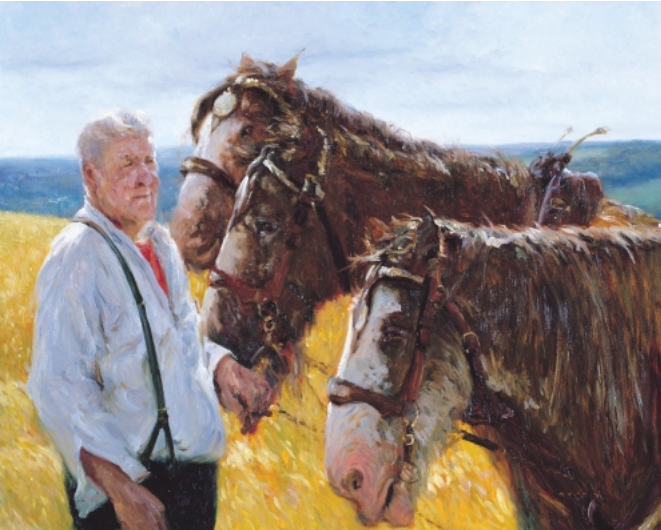 Rare opportunity to purchase an original painting by renowned #irish_artist Paul Kelly : Holding the Horses oil on canvas 24 x 30 inches #irishart #equine #art #horses #instaart #irishartists #farming  #artforsale #oilpainting #artoftheday #artgallery https://artclickireland.com/art/holding-the-horses-by-paul-kelly/…pic.twitter.com/rT6X70H9Jx