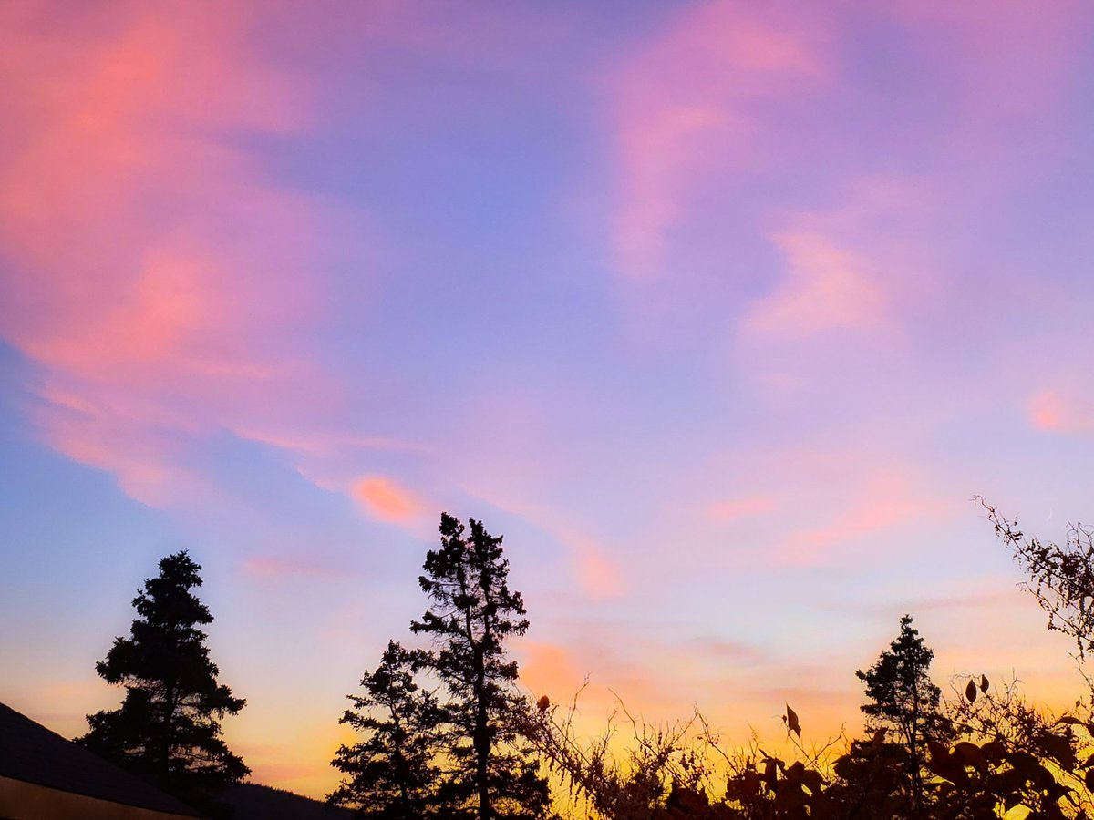 No #sunset tonight but here's one from a little while ago. Love a #pretty #sky. #nature #naturephotography