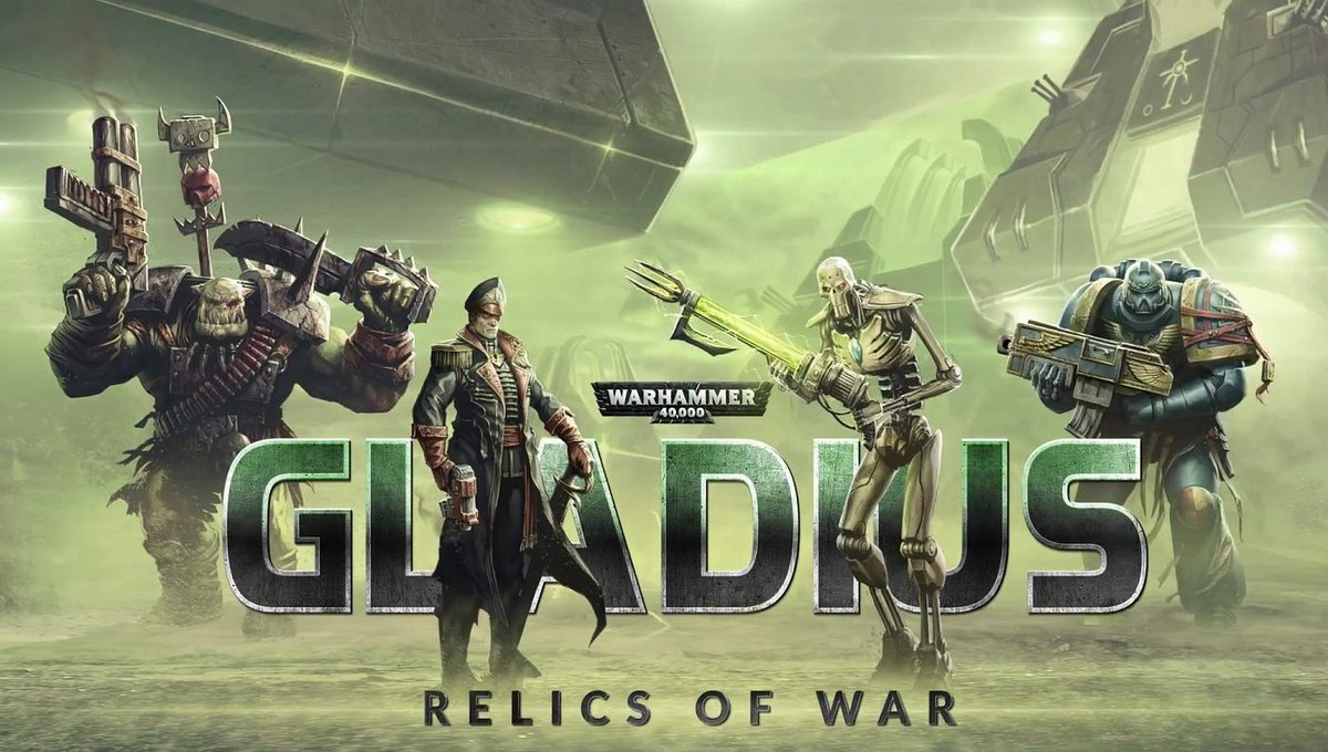 In 2018, @proxy_studios released #Warhammer 40K: Gladius - Relics of War. Players could play as one of four factions in a 4X turn-based strategy game. It was the first of its kind for the Warhammer universe and emphasized Exploration, Expansion, Exploitation, and Extermination. https://t.co/HSouVs0Jy4
