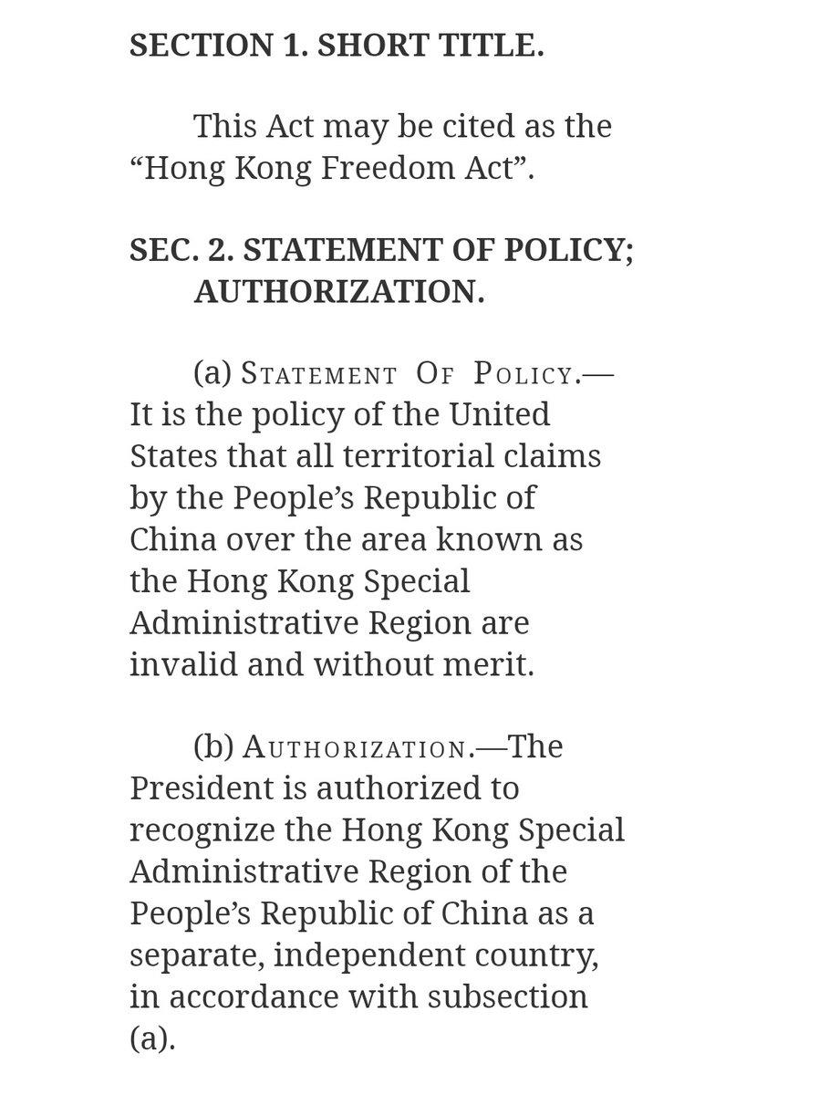 RT @hkbhkese: 美眾議員佩里:我呼籲眾議院通過法案去承認香港被中國非法佔領 H.R.6947 - Hong Kong Freedom Act https://t.co/l6lpTaufcj https://t.co/4YCELvxYzP