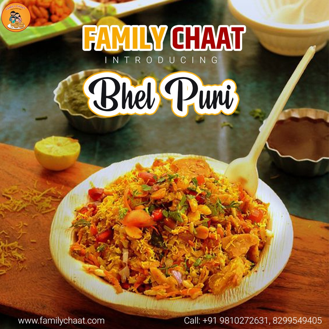 Family Chaat Presents Spicy & Crunchy BHEL PURI  . Come & Enjoy delicious #Bhel_puri with us  Get info call us at +91-8826094095, 91 98102 72631 or visit https://www.familychaat.com/  #food #foodporn #instafood #yummy #amazing #instagood #photooftheday #tasty #food #deliciouspic.twitter.com/8CoE9j3UHB