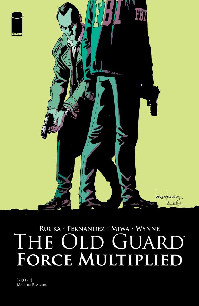 Currently #reading The Old Guard: Force Multiplied #4 #TheOldGuard #ImageComics #Comics https://t.co/Kj8kMJQjKo